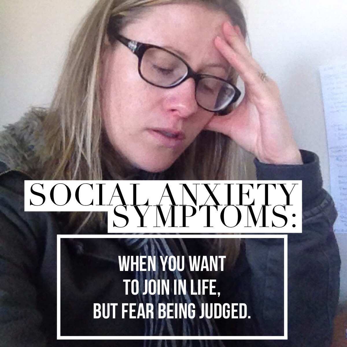 Social anxiety symptoms: Embarrassing truths