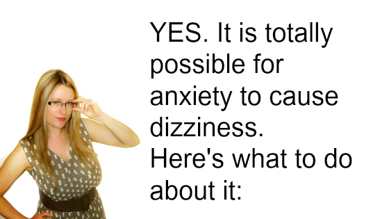 could anxiety cause dizziness