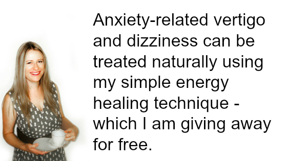 how to deal with dizziness from anxiety